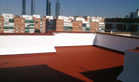 Pintura tarimas impermeabilizaciones humedades reformas - Pintura impermeabilizante terrazas ...
